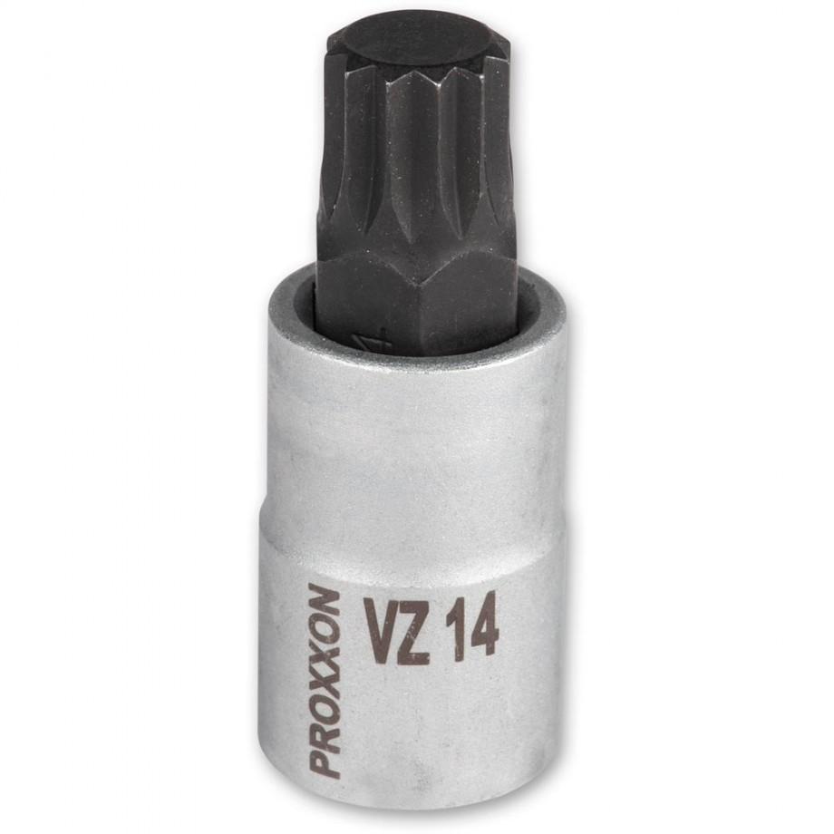 """Proxxon 1/2"""" Spline Inserts VZ14"""