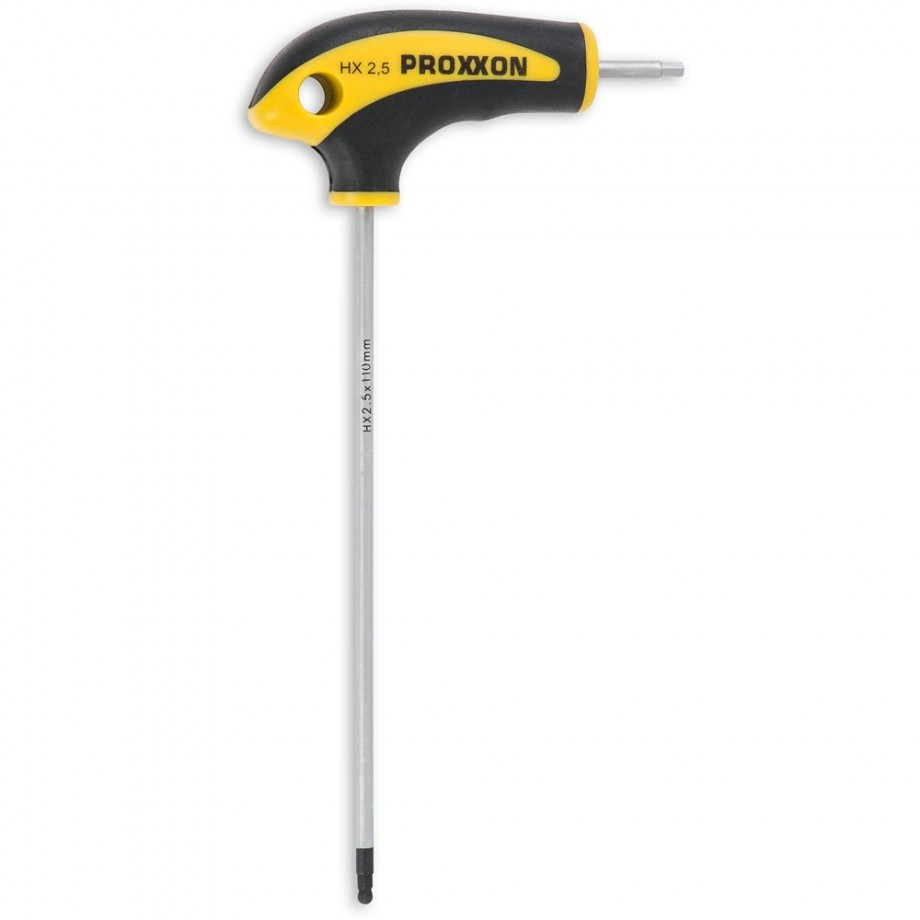 Proxxon L-Handle Hex Screwdriver - Hex 2.5mm