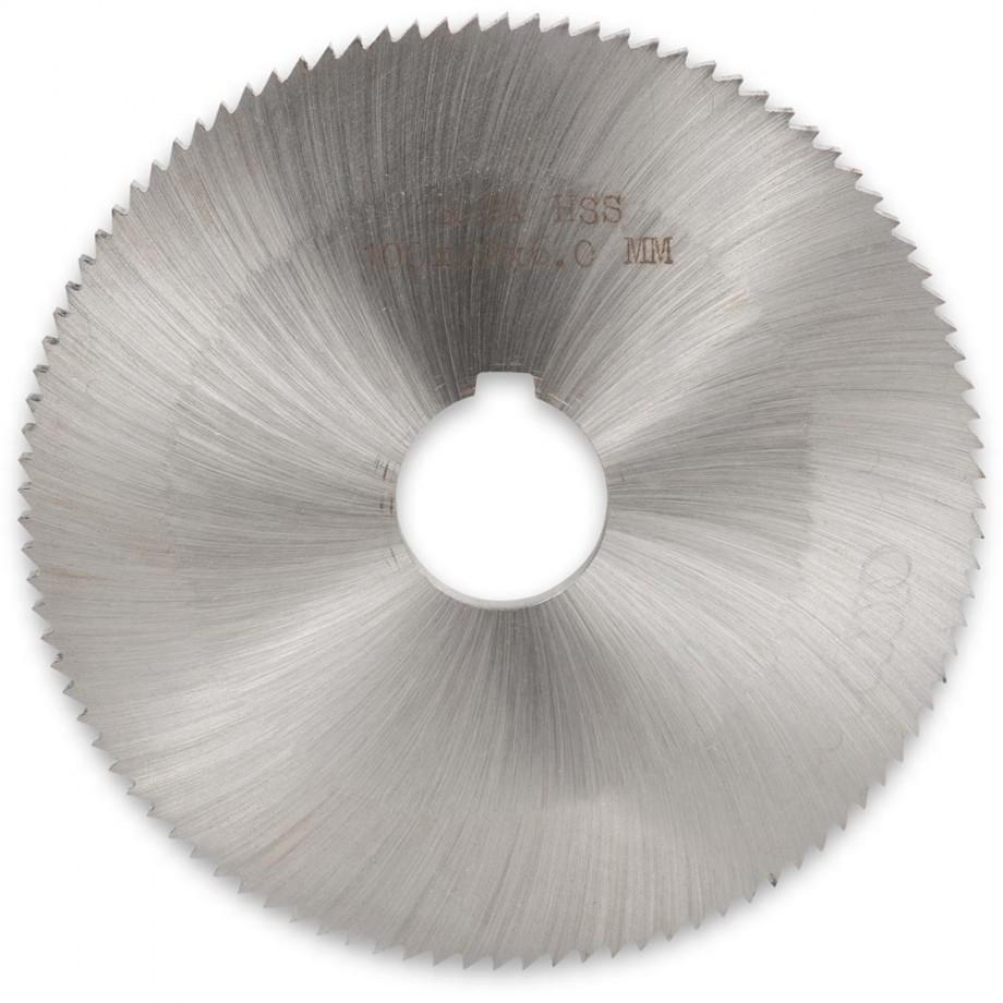 Axminster HSS Slitting Saw 100 x 22 x 6.0mm
