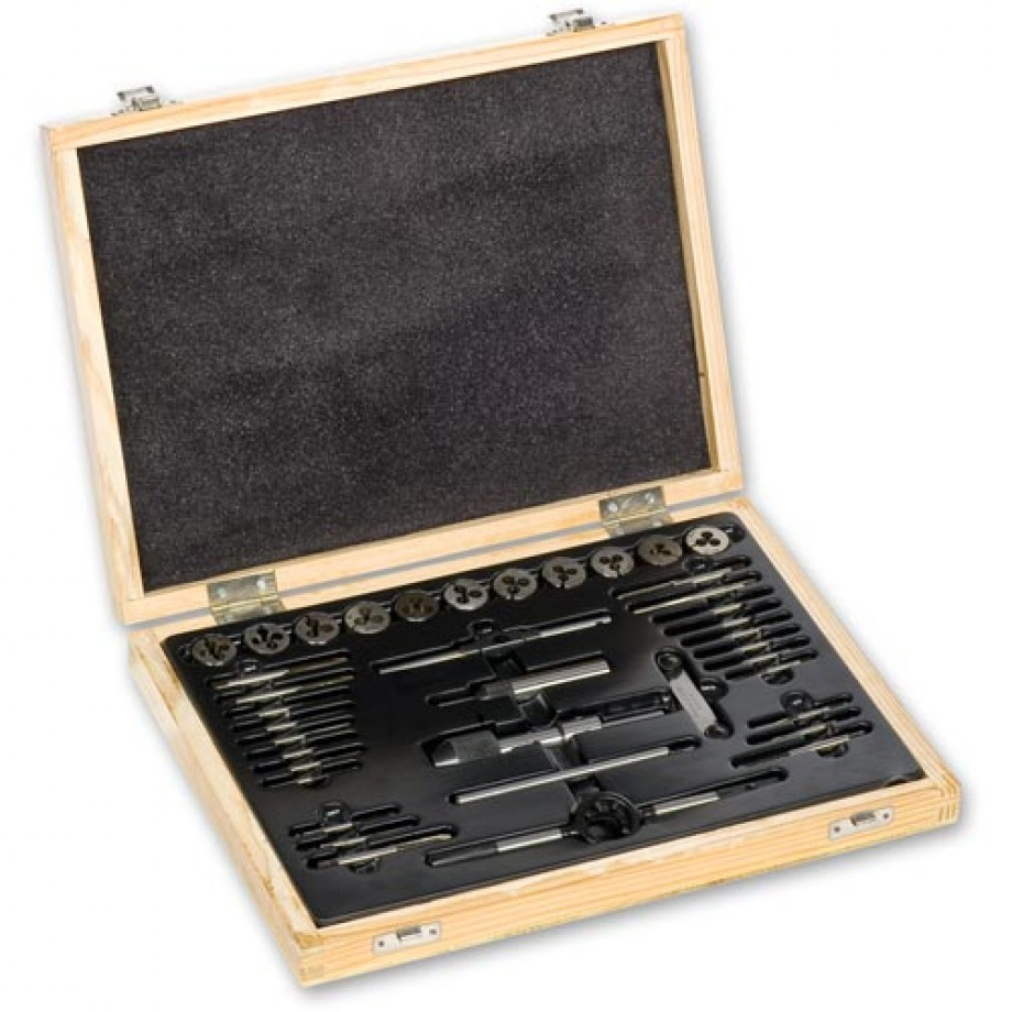 Axminster 0 - 10 BA Tap and Die 38 Piece Set