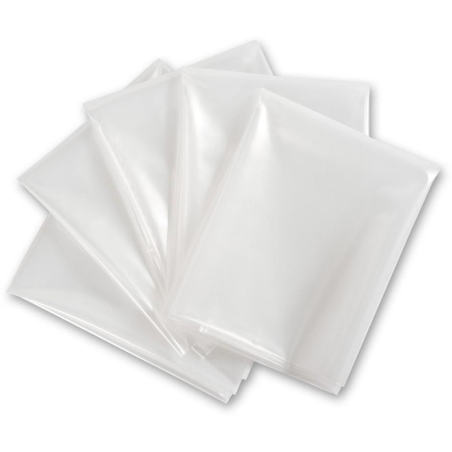 200 litre Waste Sacks for Axminster WV Fine Filter Extractors (Pkt 5)