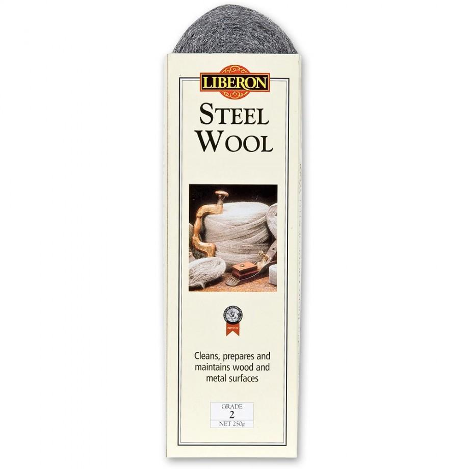 Liberon Steel Wool - Grade 2 - 250grm