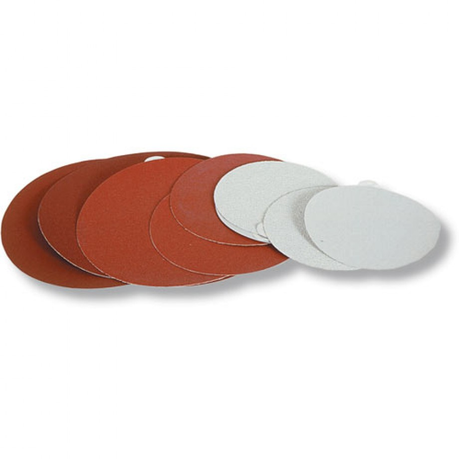Hermes Abrasive Disc Self Adhesive - 125mm 100 Grit (Pkt 10)