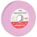 "Axminster Grindstone Red - 150 x 25mm x 31.75mm(1.1/4"") x 80G"