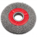 SIT Wire Brush for Grinders - Steel Double Row 150mm