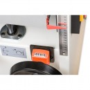Digital height indication of the thicknessing table. Supplied with the spiral blade cutter block versions only.