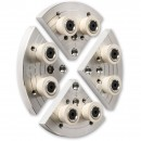 Axminster Button Jaws 150mm