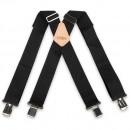 Black Non Elastic Braces