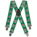 Green Christmas Penguin Braces