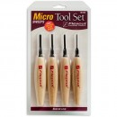 Flexcut 4 Piece Micro Sweep Tool Set