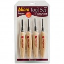 Flexcut 4 Piece 90 Degree Parting Micro Tool Set