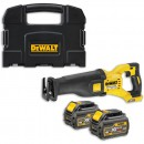 DeWALT DCS388T2 XR FLEXVOLT Reciprocating Saw 2 x 54V Batteries