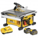 DeWALT DCS7485T2 XR FLEXVOLT Table Saw 2 x 54V Batteries