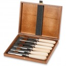 Axminster Rider 6 Piece Bevel Edge Chisel Set Hornbeam Handle