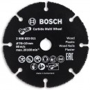 Bosch 76mm Carbide Multi Wheel for GWS 10.8