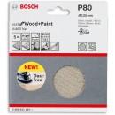 Bosch Net M480 Abrasive 125mm x 80G Pkt 5