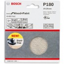 Bosch Net M480 Abrasive 125mm x 180G Pkt 5