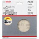 Bosch Net M480 Abrasive 150mm x 320G Pkt 5
