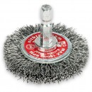 Wire Wheel Brushes with Hex Shank