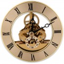 Craftprokits 86mm Gold Skeleton Clock