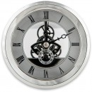 Craftprokits 100mm Silver Skeleton Clock Insert