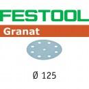 Festool Granat Sanding Discs 125mm P80 (Pkt 10)