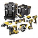 DeWALT DEWDCK654P3T XR Compact TSTAK 6 Piece Kit