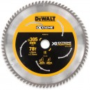 DeWALT Extreme  Runtime Circular Saw Blade 305mm x 78T