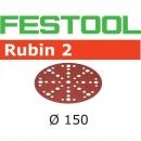 Festool Rubin Sanding Discs 150mm 48 Hole 180g (Pkt 10)