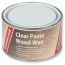 Axminster Paste Wood Wax Clear 400g