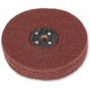Axminster Craft 150mm Nylon Abrasive Wheel Plain Bore - Medium