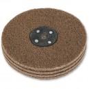 Axminster Craft 150mm Nylon Abrasive Wheel Plain Bore - Coarse