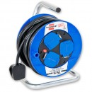 Brennenstuhl 3-Way Socket Compact Cable Reel 15m