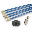 Bailey 1323 Lockfast Drain Rod Set with 2 Tools