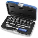"Britool 22 Piece Deep Socket Set Metric (3/8"")"