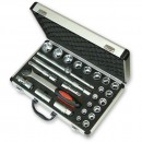 "Faithfull 26 Piece Metric Socket Set (1/2"")"