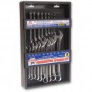 Faithfull 18 Piece Metric Combination Spanner Set