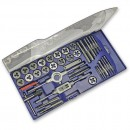 Faithfull Metric Tap & Die Set Carbon Steel (39-Piece)