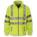 Scan Hi-Visibility Yellow Full Zip Fleece - XL