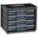 Raaco Portable HandyBox with 4 Assorters