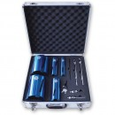 Faithfull 11 Piece Diamond Core Drill Kit & Case Set