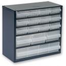 Raaco 616-123 16 Drawer Metal Cabinet