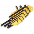 Stanley 8 Piece Imperial Hex Key Set