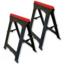 Faithfull Plastic Trestles (Twin Pack)