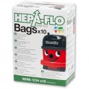 Numatic Hepaflo Filter Bags NVM-1CH - (Pkt 10)