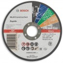 Bosch Rapido Multiconstruction Thin Cutting Discs - 125mm