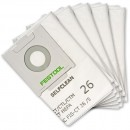 Festool Self Clean Filter Bags for CTL26/ CTM26 Extractors