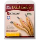 Flexcut Detail Knife Set