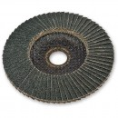 Zirconium Flap Disc - 100mm (16mm Bore) 60 Grit