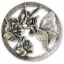 Craftprokits Pewter Lid - Butterfly